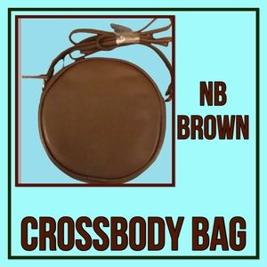 No Bounderies Brown Crossbody Purse